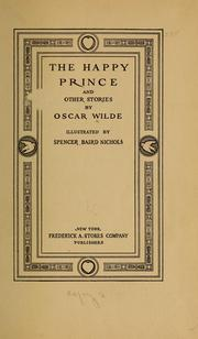Cover of: The happy prince | Oscar Wilde