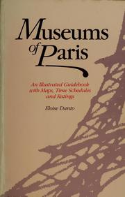 Cover of: Museums of Paris | Eloise Danto