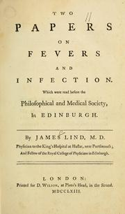 Cover of: Two papers on fevers and infections