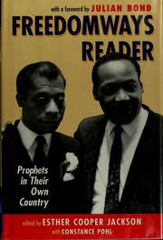 Cover of: Freedomways reader | Esther Cooper Jackson, Constance Pohl