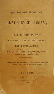 "Cover of: Black-eyed Susan; or, ""All in the downs"""