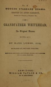 Cover of: Granfather Whitehead