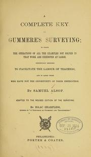 Cover of: A complete key to Gummere
