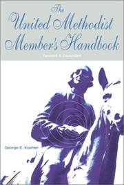 Cover of: The United Methodist member's handbook
