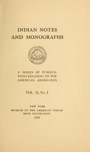 Cover of: The pre-Iroquoian Algonkian Indians of central and western New York