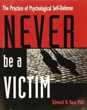 Cover of: Never be a victim