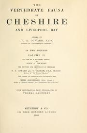 Cover of: The vertebrate fauna of Cheshire and Liverpool Bay
