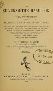 Cover of: The silversmith