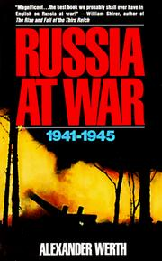 Cover of: Russia at War