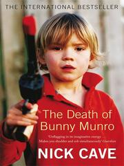 Cover of: The death of Bunny Munro: A Novel