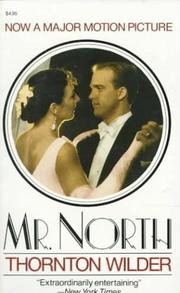 Cover of: Mr. North