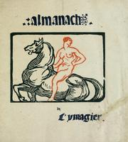 Cover of: Almanach de l'ymagier 1897