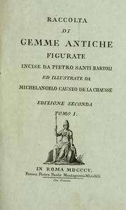 Cover of: Raccolta di gemmme antiche figurate