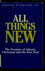 Cover of: All things new