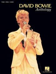Cover of: David Bowie Anthology (Piano, Vocal, Guitar Personality Folio S)