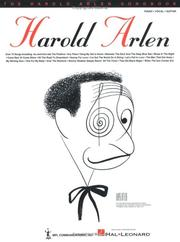 Cover of: The Harold Arlen Songbook