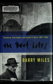 Cover of: The Beat Hotel | Barry Miles