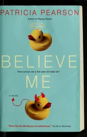 Cover of: Believe me