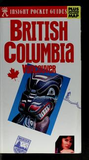 Cover of: British Columbia, Vancouver