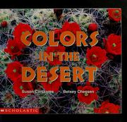Cover of: Colors in the desert