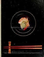 Cover of: The cooking of Japan