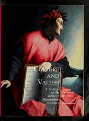 Cover of: Culture and values | Lawrence Cunningham
