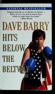 Cover of: Dave Barry hits below the Beltway