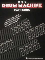 Cover of: 200 Drum Machine Patterns | ReneМЃ Pierre Bardet