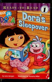 Cover of: Dora's sleepover
