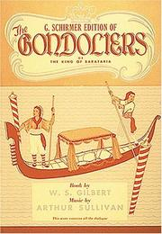 Cover of: The Gondoliers |