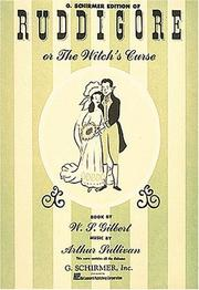 Cover of: Ruddigore, or, The Witch