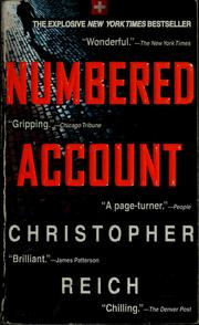 Cover of: Numbered account