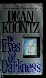 The eyes of darkness by Dean Ray Koontz
