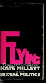 Cover of: Flying