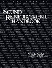 Cover of: Sound Reinforcement Handbook |
