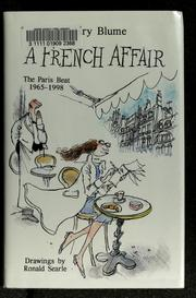 Cover of: A French Affair