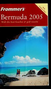 Cover of: Frommer's Bermuda 2005