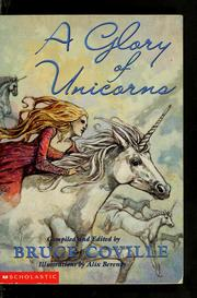 Cover of: A glory of unicorns