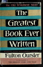 Cover of: The greatest book ever written