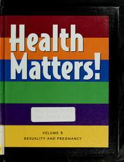 Cover of: Health Matters! | William M. Kane