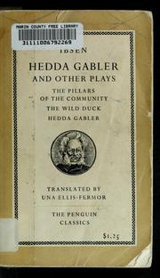 Cover of: Hedda Gabler and other plays | Henrik Ibsen