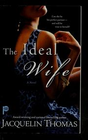 Cover of: The ideal wife