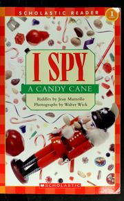 Cover of: I spy a candy cane