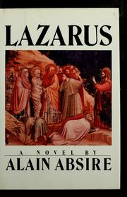 Cover of: Lazarus | Alain Absire