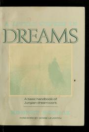 Cover of: A little course in dreams