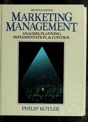 Marketing Management 1991 Edition Open Library