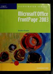 Cover of: Microsoft FrontPage 2003