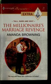 Cover of: The millionaire's marriage revenge