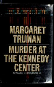 Cover of: Murder at the Kennedy Center