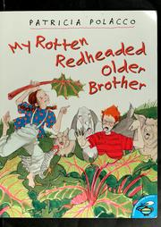 Cover of: My rotten redheaded older brother